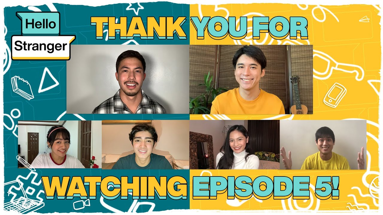 The cast of Hello Stranger says thank you for watching Episode 5!