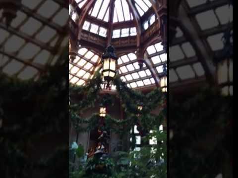 Biltmore Estate - indoor Garden