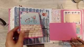 Обзор альбома ручной работы / Handmade / Scrapbooking album