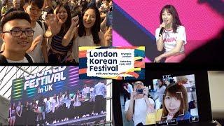Video VLOG: LONDON KOREAN FESTIVAL 2017 (60FPS) KPOP! download MP3, 3GP, MP4, WEBM, AVI, FLV September 2017