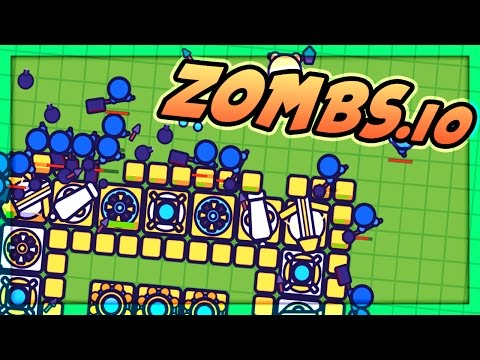 Zombs.io : The Epic Survival Base!  (Zombs io Gameplay)