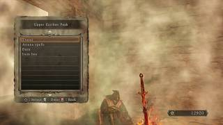 Dark Souls 2 - Earthen Peak, Upper Earthen Peak (3RD BONFIRE)