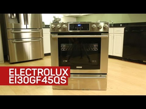 This Electrolux stove is slow, steady and disappointing