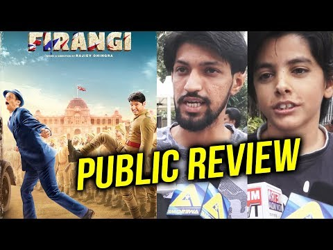 FIRANGI PUBLIC REVIEW   First Day First Show   Kapil Sharma