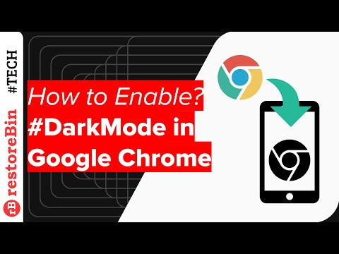 Dark mode in Android Chrome browser: How to officially enable on any device?