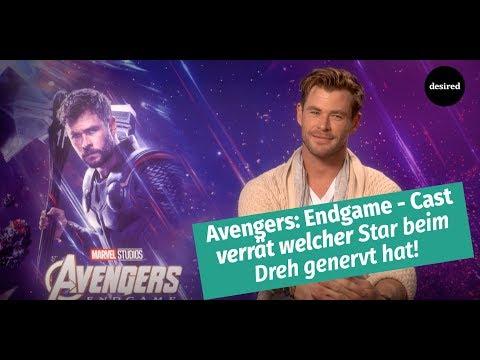 Avengers: Endgame - Interview mit Chris Hemsworth, Scarlett Johansson, Paul Rudd