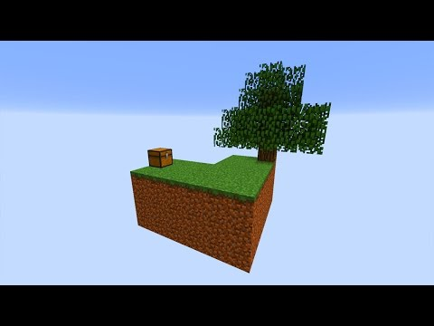 Skyblock Map selbst bauen in 5 Minuten! – Minecraft Tutorial