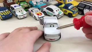 Disney Pixar cars 3 Kris Revstopski diecast review
