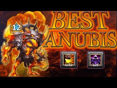 F2P ANUBIS Being MAXED Out 12/12 Skill Breakthrough Levels L Castle Clash