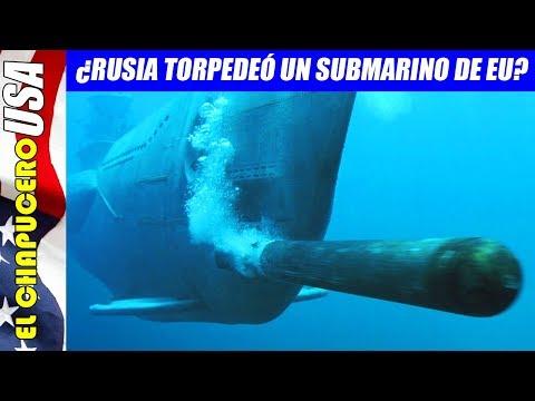 ¿Se enfrentaron submarinos nucleares de EU y Rusia en el Ártico?