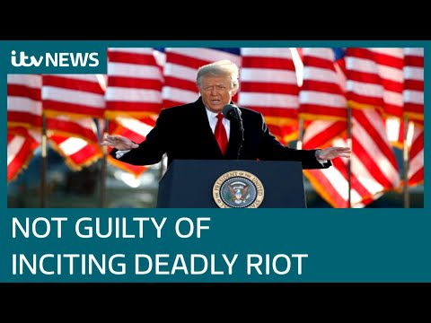 Donald Trump impeachment trial: Former president not guilty of inciting Capitol riot | ITV News