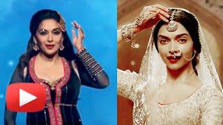 Madhuri Dixit Performs On Deepika Padukone's Deewani Mastani | Bajirao Mastani Movie