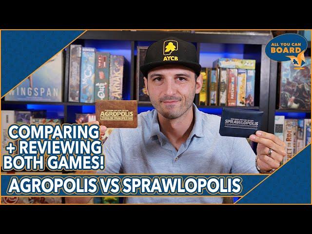 AGROPOLIS vs SPRAWLOPOLIS | Comparison & Review