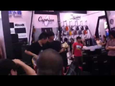 Beijing 20th annual music instruments exhibition