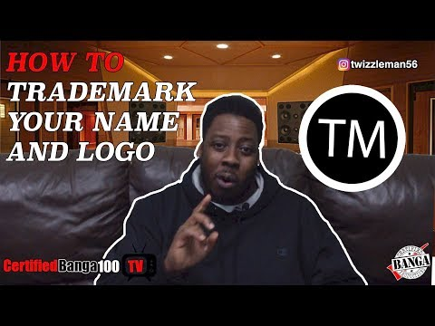 How To Trademark Your Artist Name & Logo