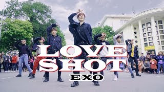 """[KPOP IN PUBLIC CHALLENGE] EXO 엑소 - """"Love Shot"""" (러브샷) Dance Cover By M.S Crew from Vietnam"""