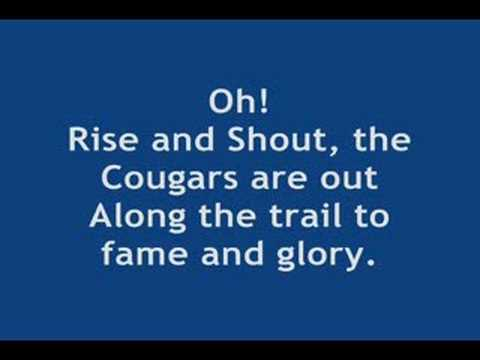 BYU Cougar Fight Song - Rise and Shout