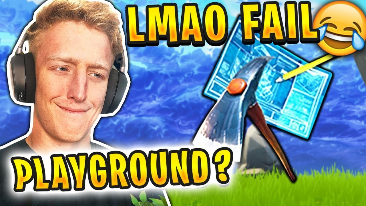 Tfue JOINS PLAYGROUND MATCH BY MISTAKE *FAIL* - Fortnite FUNNY and BEST Moments