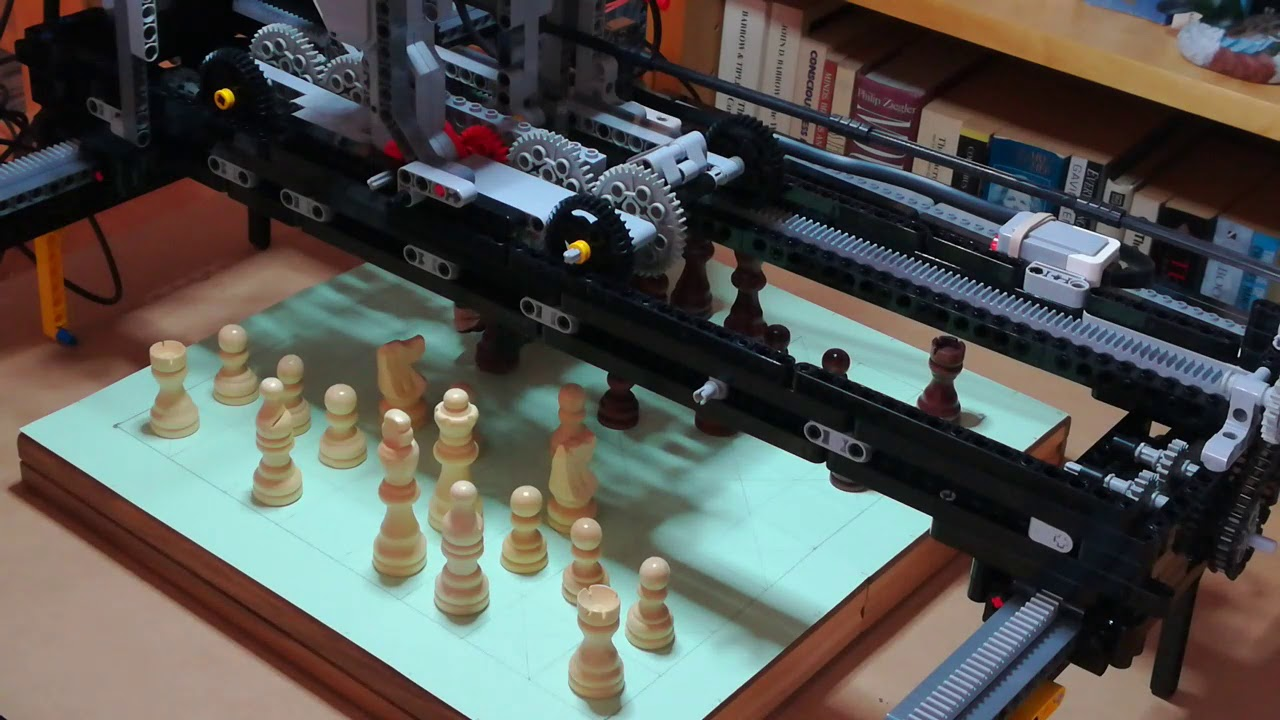 Chess Robot Made With LEGO and Raspberry Pi: 6 Steps