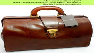 Borsa The Bridge Firenze Story Unisex Medico   0683100114