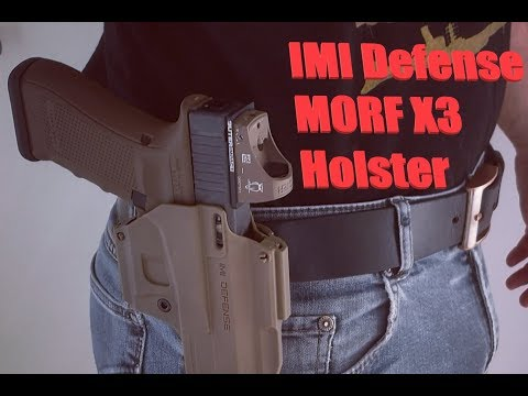 IMI Defense Morf X3 Holster // Review