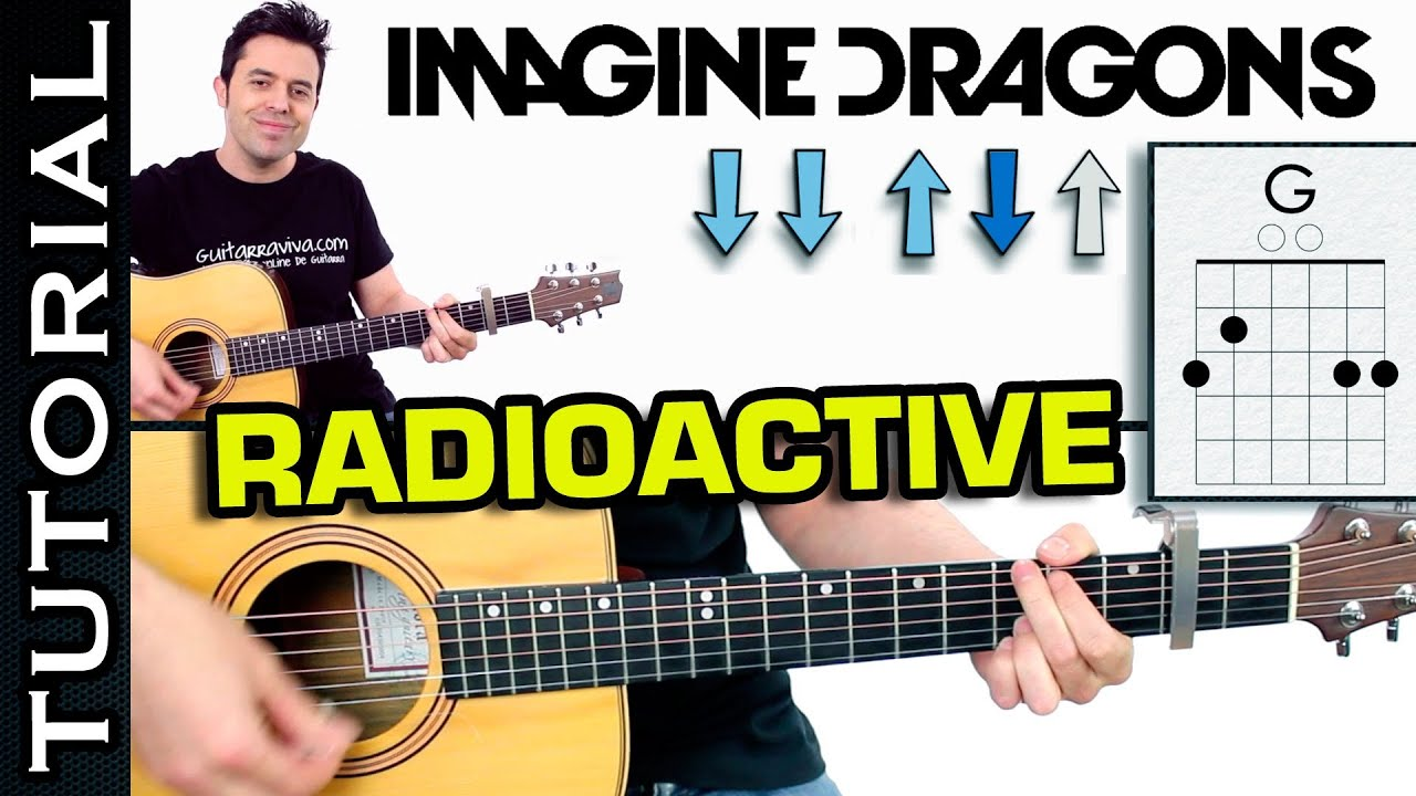 how to play radioactive on guitar