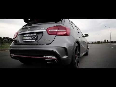 Mercedes-Benz GLA45 AMG Armytrix Turbo Back Performance Valvetronic Exhaust