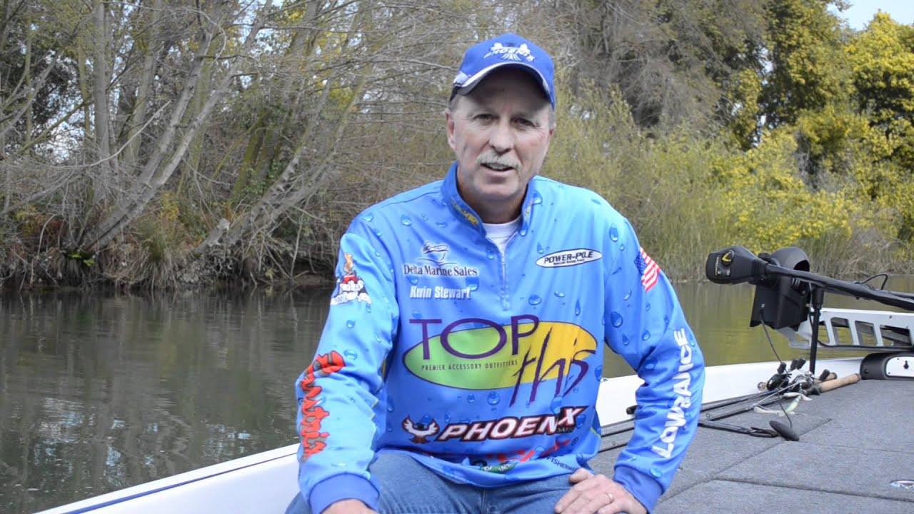 Kevin stewart california delta fishing report 2012 won for Ca delta fishing report