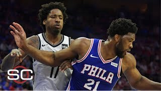 NBA Film Breakdown: Joel Embiid's physicality leads 76ers to Game 2 win over Nets | SportsCenter