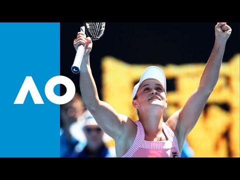 Ash Barty v Maria Sharapova match highlights (4R)   Australian Open 2019