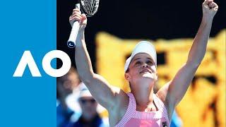 Ash Barty v Maria Sharapova match highlights (4R) | Australian Open 2019
