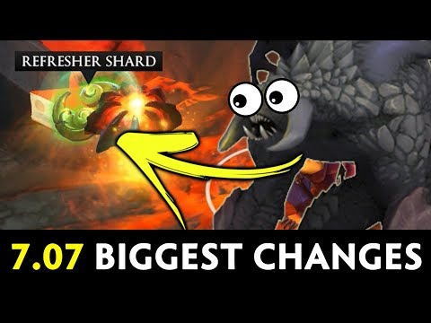 7.07 BIGGEST general changes — NEW Map, Roshan, All Pick