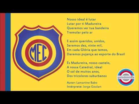 Hino Oficial do Madureira Esporte Clube (RJ) - Hinos de Futebol (letra da  música) - Cifra Club 57b0651b69ed7