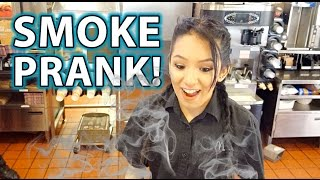 SMOKE from Nowhere Magic PRANK!