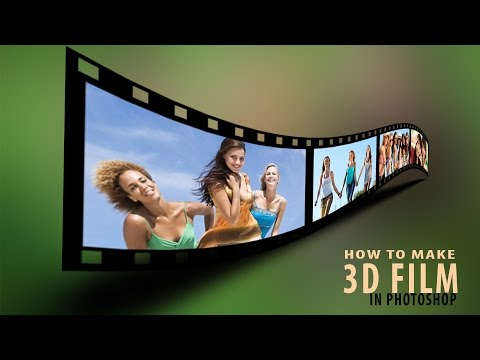 How To Make A 3D Film Strip In Photoshop