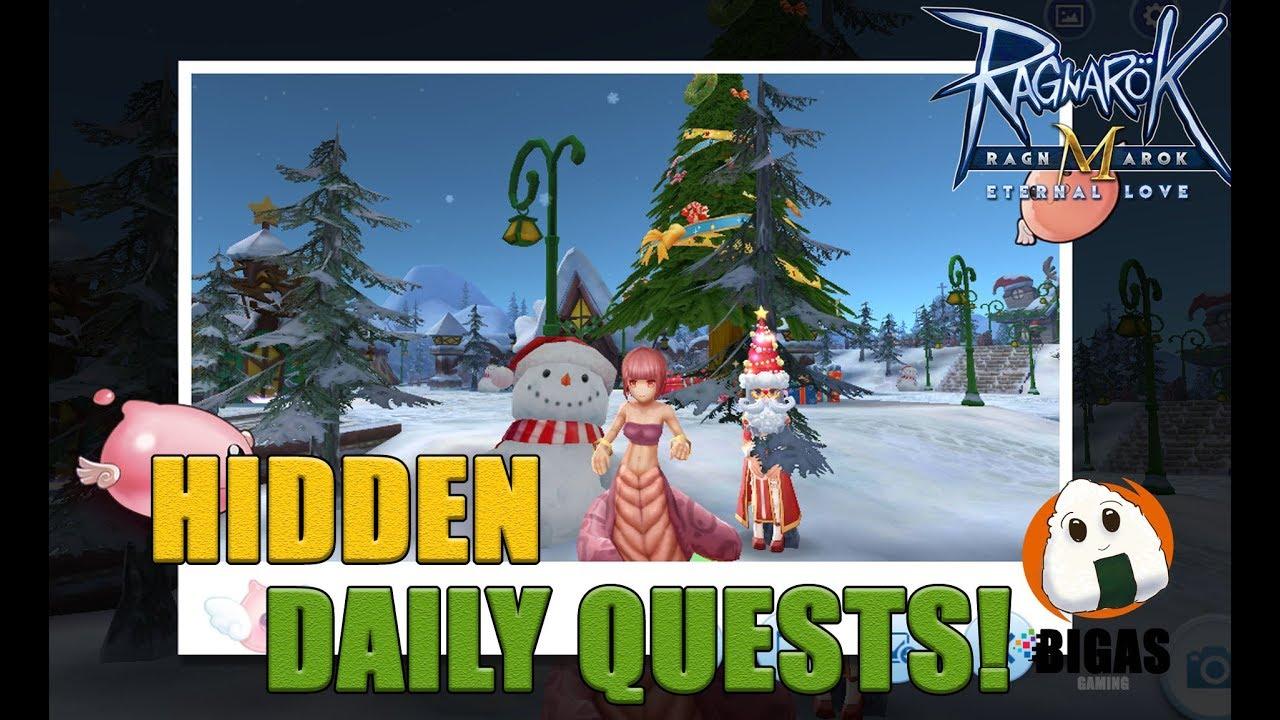 Hidden Daily Quests @ Gingerbread City!   Ragnarok Mobile: Eternal