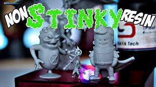 Non Stinky Resin!! Testing out Siraya Tech FAST resin on the Elegoo Mars 3D Printer