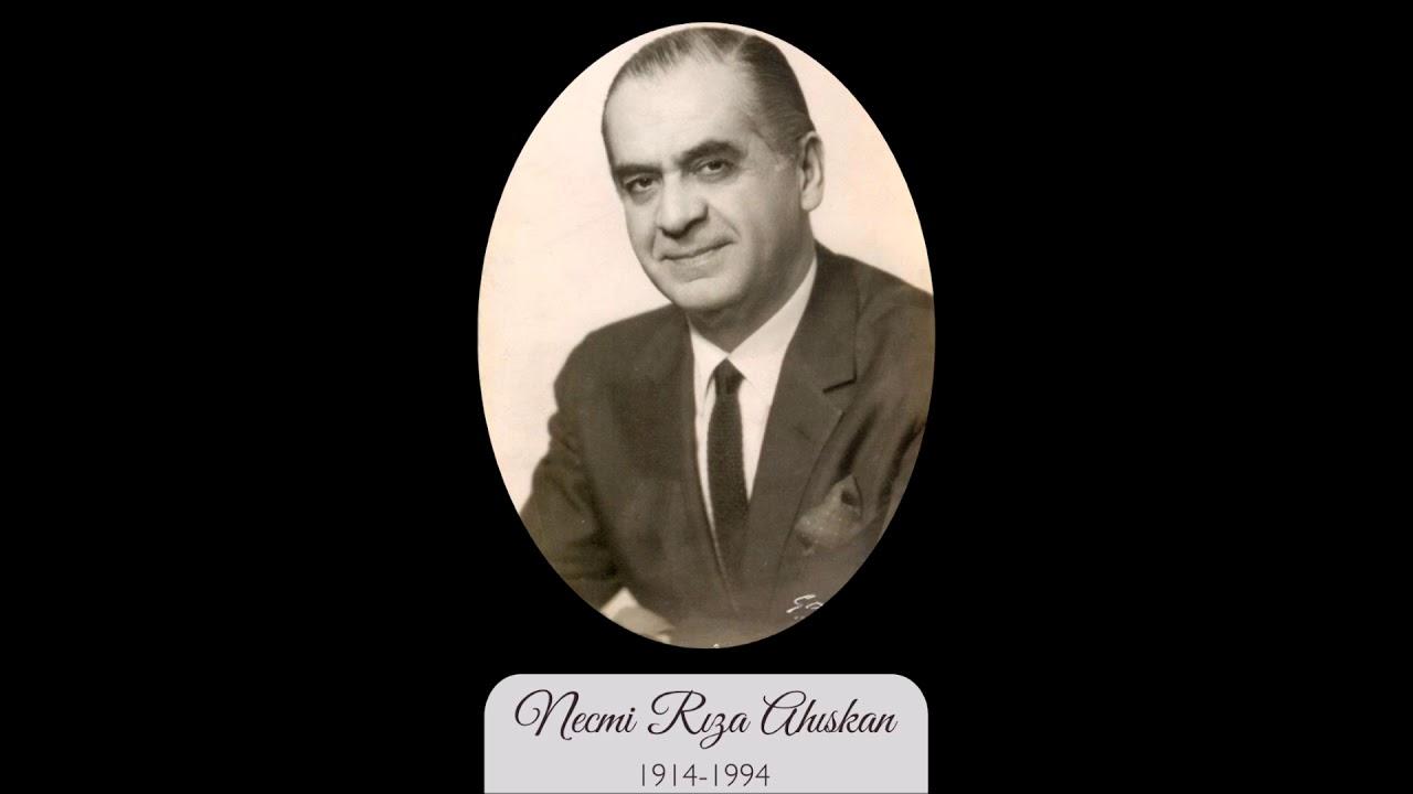 Necmi Rıza AHISKAN-Deryada Deryalıklar Ay Balam (NİHAVEND)R.G.