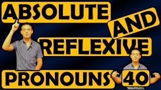 40. Английский: REFLEXIVE AND ABSOLUTE PRONOUNS / ВОЗВРАТНЫЕ И АБСОЛЮТНЫЕ МЕСТОИМЕНИЯ (Max Heart)