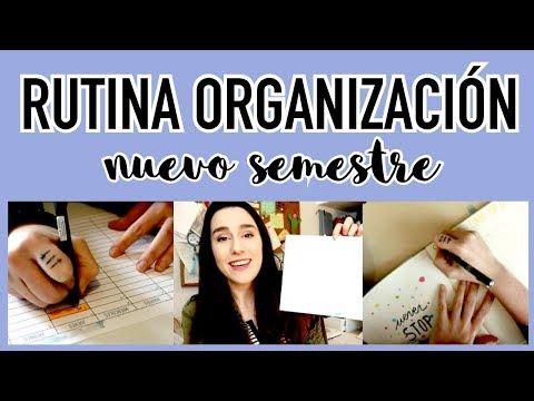 Preparando el NUEVO SEMESTRE: Mi rutina de organización + REGALO | Christine Hug