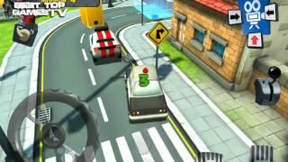 Park Oyunları - 3D Çizgi film Araba Park Simülatörü Oyun Römork