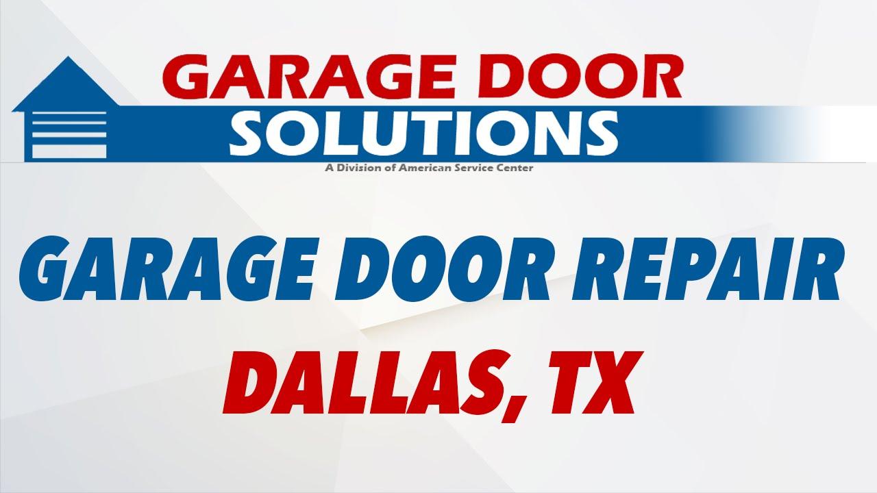 Garage door solution repair dallas tx youtube garage door solution repair dallas tx rubansaba