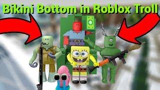ROBLOX Trolling as Spongebob/Bikini Bottom