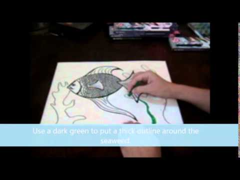 Creating A Mixed Media Fish
