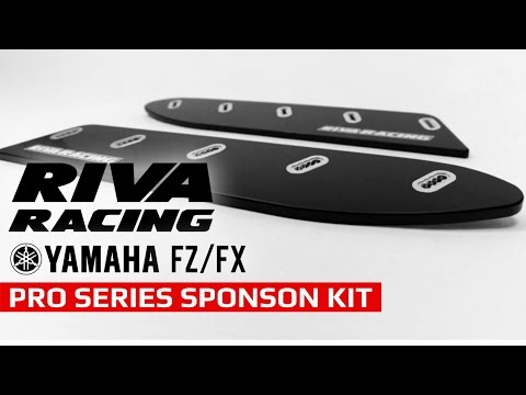 RIVA Racing Yamaha FZ/FX Pro Series Sponson Kit