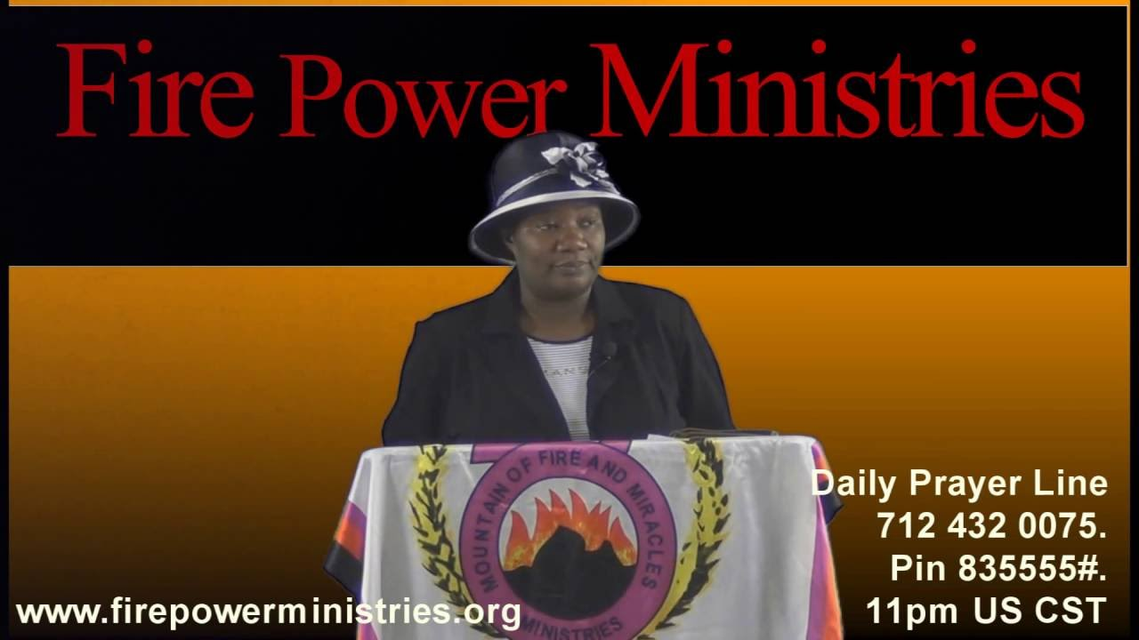 Prayer Points – FIRE POWER DELIVERANCE MINISTRIES WITH DR STELLA