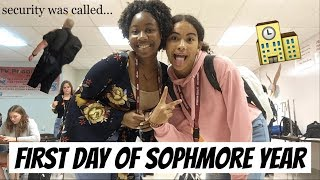 First Day of School Vlog (Sophmore Year)