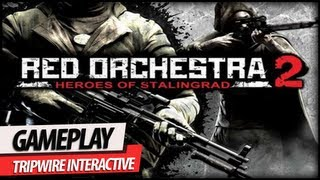 Red Orchestra 2: Heroes of Stalingrad - One of The Best Online FPS Games Gameplay (Commentary)