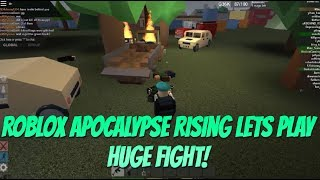 Roblox Apocalypse Rising Lets Play with TL {Huge Fight In Kin}