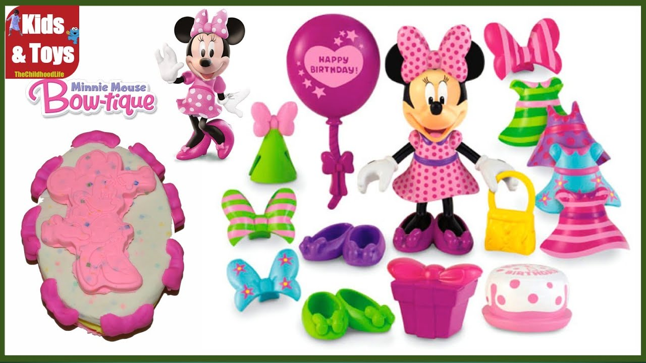 Disney Junior Mickey Mouse Clubhouse Minnie Mouse Birthday